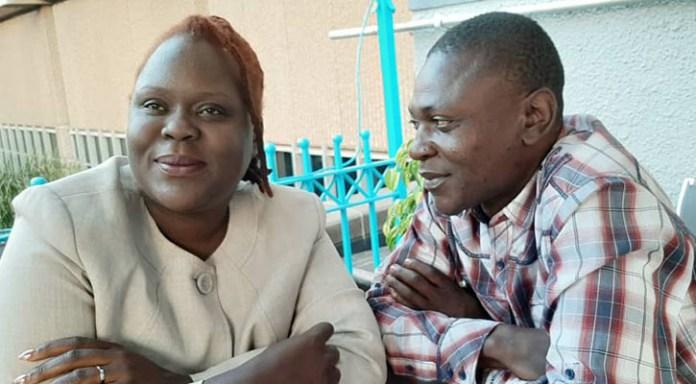 Linda Masarira and Gilbert Kaingidza