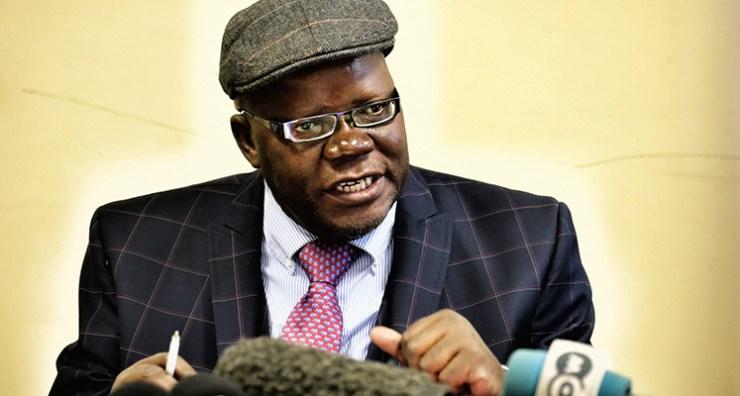 Main opposition Movement for Democratic Change (MDC) vice president and legislator Tendai Biti