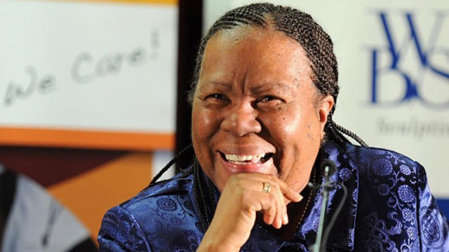 South Africa's International Relations Minister, Naledi Pandor