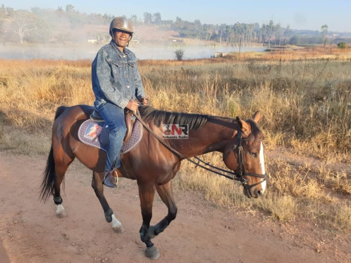 Gideon Gono now able to horse ride after fitness regime that saw him shed 35 kgs