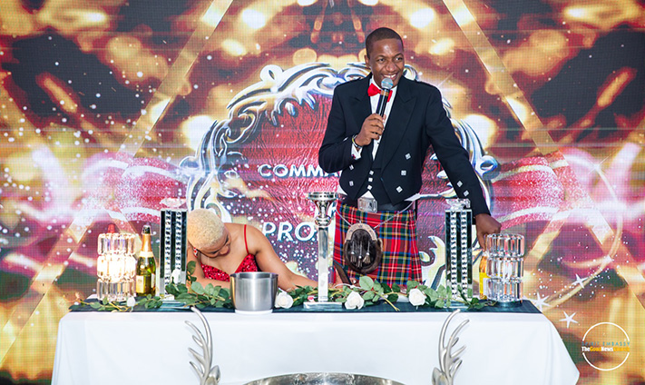 Businessman & Spirit Embassy: Goodnews Church founder Prophet Uebert Angel on Saturday celebrated his birthday with an exclusive party that featured RnB sensation Garry Mapanzure, traditional Scottish dancers and a spectacular fireworks display at his mansion in the UK.