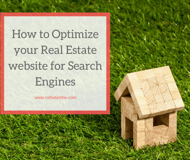 How to optimize your real estate website for Search Engines