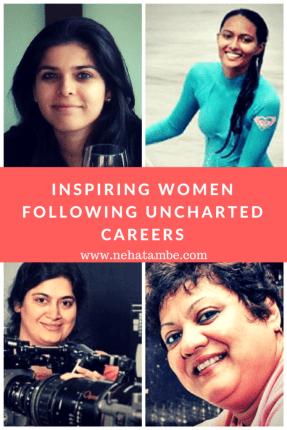 4 inspiring women from india following alternate careers
