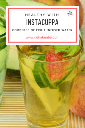 Fruit infused water and its health benefits