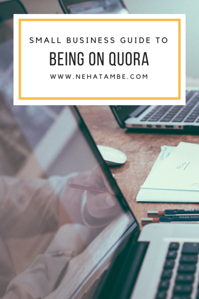 Small business guide to quora