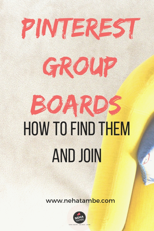 Pinterest Group Boards and how to find them