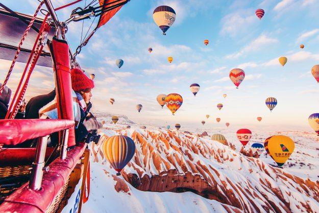 Turkey hot air balloon festival