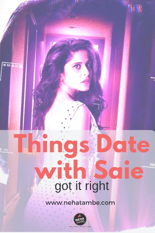 Date with Saie a Zee5 original series