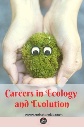 Careers in ecology and evolution for students thinking about career after 12th