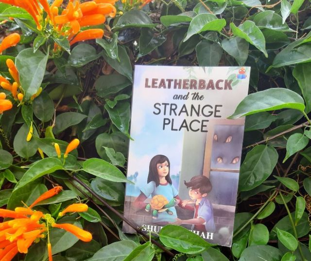 Book review of Leatherback and the Strange place