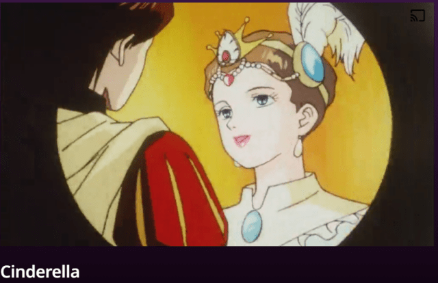 animated kids classic movie- cinderella
