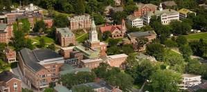 An aerial photograph of Dartmouth.