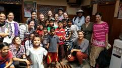 Meeting with the children at Salaam Baalak Trust