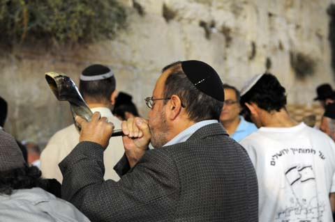 Selichot at the Kotel