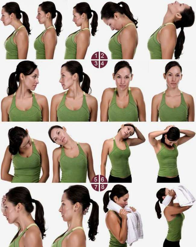 Oefeningen voor de nek