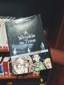 "Graphic novel version of ""A Wrinkle in Time."" (Photo by Catherine Monroy)"