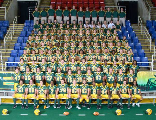North Dakota State Team Pic
