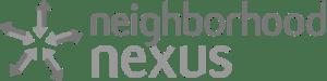 Neighborhood Nexus logo - gray