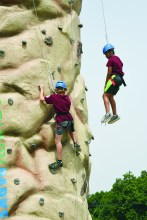"""Take dad to a """"Get Out & Play"""" event like the one shown here"""
