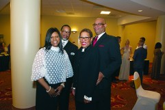 Anita Gary, Brian Gary, Michelle May and Ron James, all of Detroit