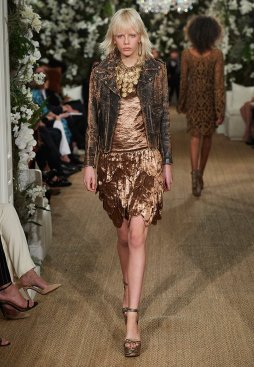 Ralph Lauren Bronze Dress