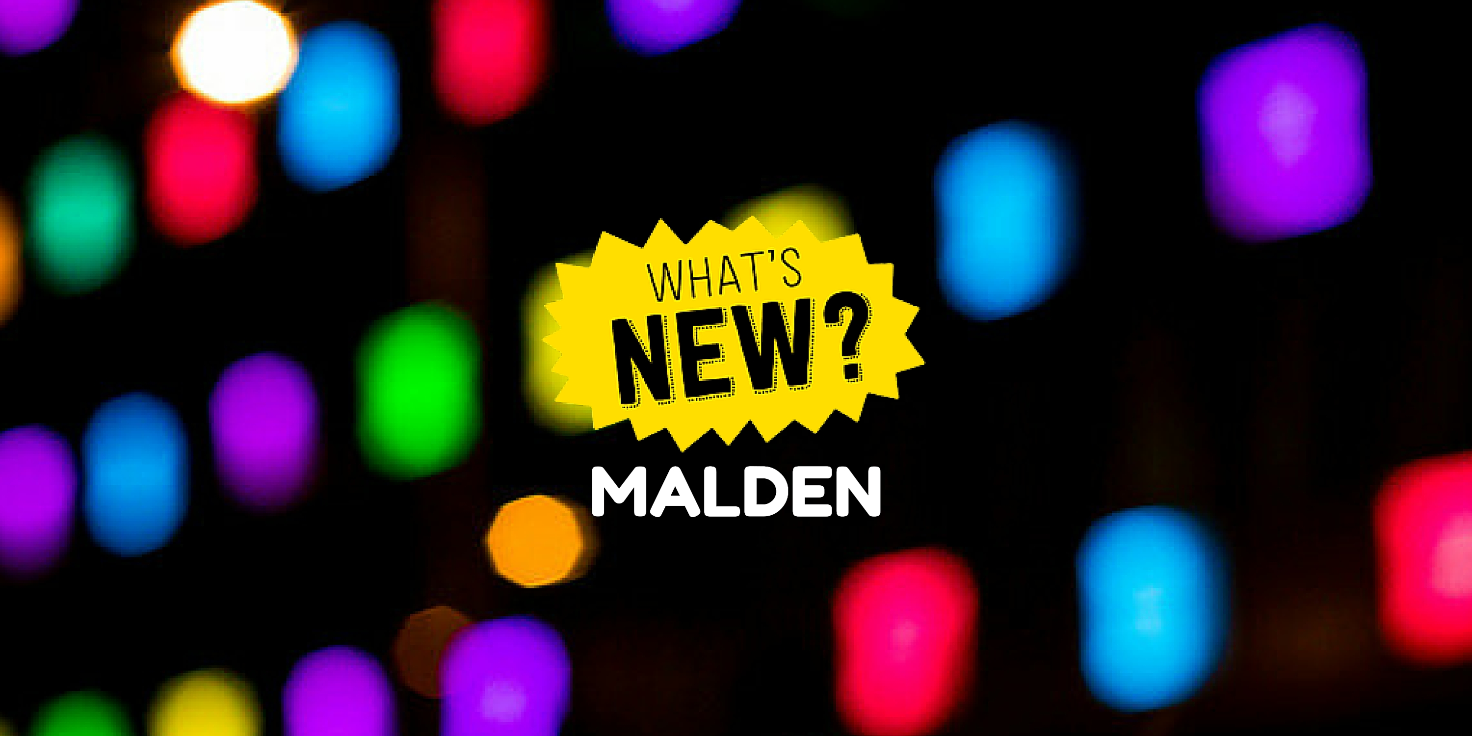 """TV SHOW: """"What's New? Malden"""" for August"""