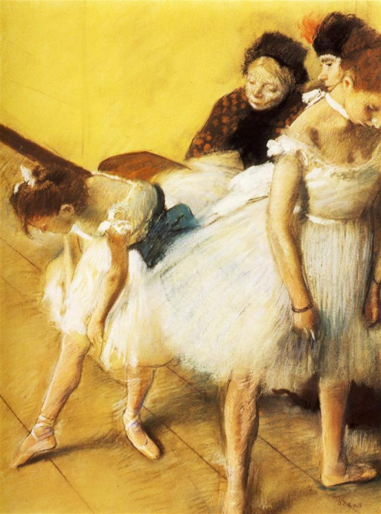 Dance Examination painting by Edgar Degas