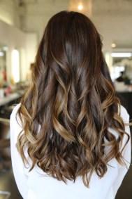 brunette highlights 2012