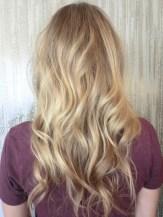 beachy blonde hair