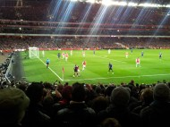 Arsenal 1-2 Manchester United - 22 Jan 2012