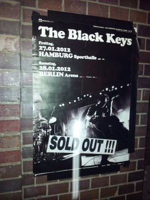 The Black Keys - Berlin - Jan 2012