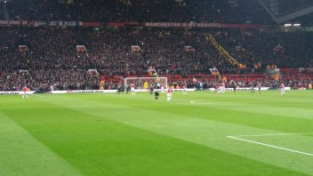 Anthony Martial scores a penalty kick