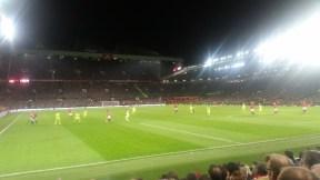 United attack in the second half