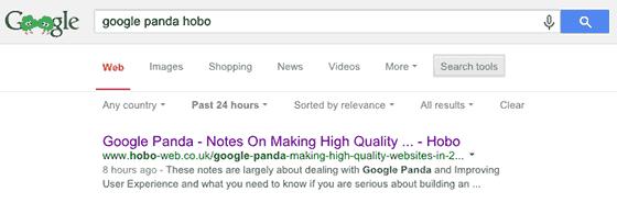 improve google rankings - title tag example