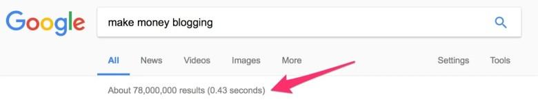 fare soldi bloggando su Ricerca Google