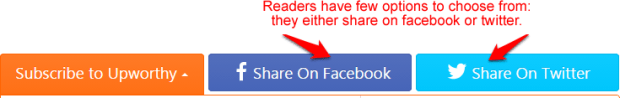 share button upworthy