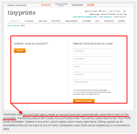 forced to register how to improve website credibility guide