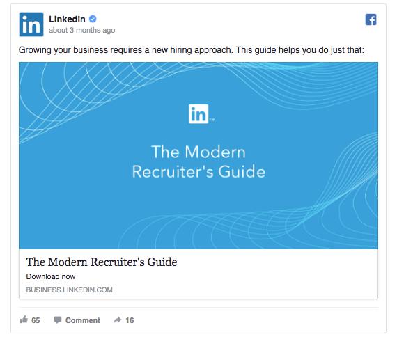 LinkedIn ad 2