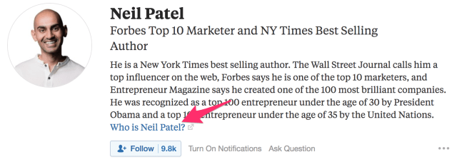 Neil Patel s Followers Quora