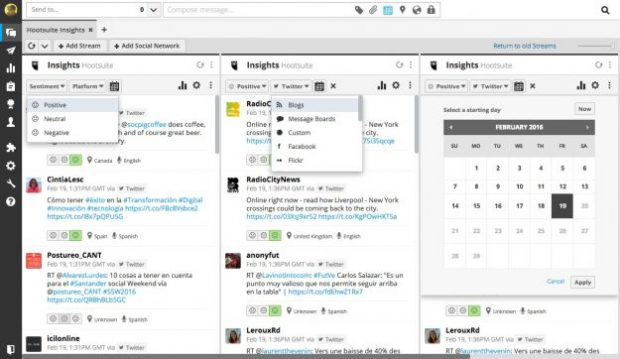 social media monitoring tools Hootsuite Insights 620x359