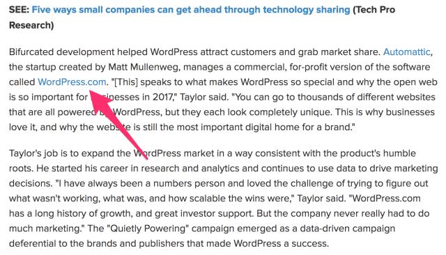 WordPress quietly powers 27 of the web TechRepublic