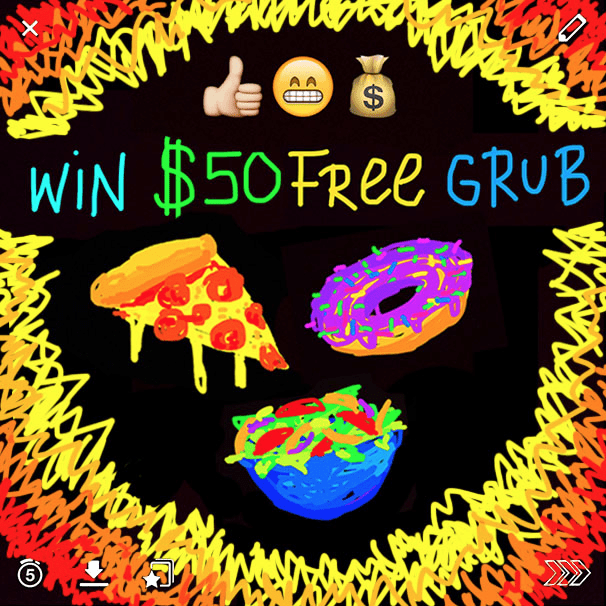 grub hub snapchat contest how to get more snapchat friends