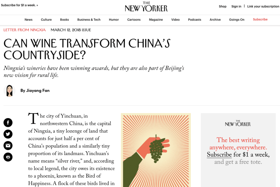 Can Wine Transform China s Countryside The New Yorker