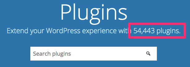 WordPress Plugins Plugins extend and expand the functionality of WordPress