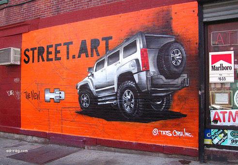 graffiti marketing