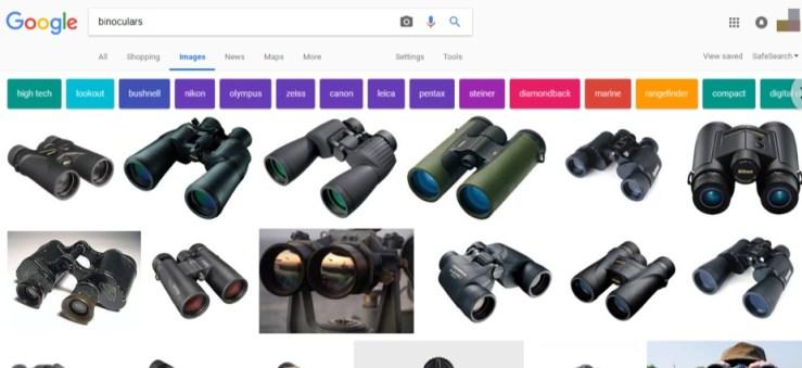 binoculars google image search
