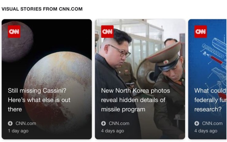 CNN AMP stories