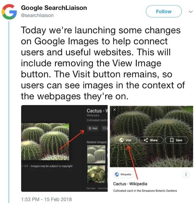 google search liaison tweet