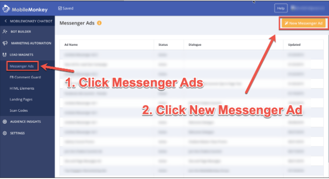 Facebook strategies messenger bot sequence