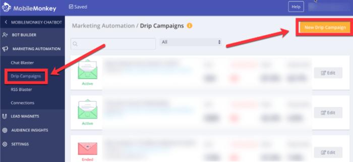 hidden facebook tool drip campaign